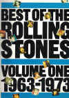 Best of The Rolling Stones Volume One 1963-1973 piano songbook ISBN 0860016277 used second hand song book for sale