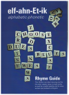 elf-ahn-Et-ik Alphabetic-Phonetic Rhyme Guide (2009) by Lionel W Loza First Edition ISBN 9780980684704 used book for sale in Australian second hand music shop