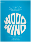 Flute Solos with Piano Accompaniment edited Trevor Wye Volume 3 Score and Part ISBN 0711921679 CH55122 used flute sheet music scores for sale in Australian second hand music shop