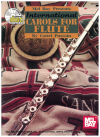 Mel Bay Presents International Carols For Flute by Costel Puscoin (1998) Score and Part with CD ISBN 0786638222 MB97529BCD 