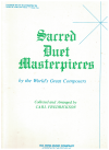 Sacred Duet Masterpieces By The World's Great Composers Volume Two Medium and Low Voice collected and arranged by Carl Fredrickson ISBN 0825802873 