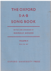 The Oxford SAB Song Book Volume II edited & arranged by Reginald Jacques (1951) 