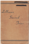 Lillena's Sacred Trios choral songbook by Haldor Lillenas (1935) 