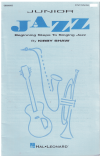 Junior Jazz Beginning Steps To Singing Jazz by Kirby Shaw 2-Part Collection (1993) used choral 2-part song book for sale in Australian second hand music shop
