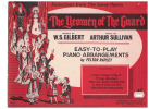 Selections From The Savoy Opera The Yeomen Of The Guard Songbook Easy-to-Play Piano Arrangements W S Gilbert 