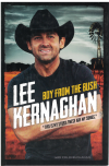 Boy From The Bush by Lee Kernaghan with Colin Buchanan ISBN 9780733333668 autobiography used second hand book for sale in Australian second hand book shop