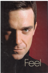 Feel: Robbie Williams by Chris Heath ISBN 009189753X biography used second hand book for sale in Australian second hand book shop