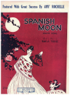 Spanish Moon (1927) song by Pamela Terese Australian songwriter Amy Rochelle 