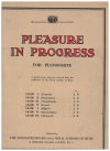 ABRSM Pleasure In Progress For Pianoforte Grade IV (Lower) by 