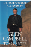 Rhinestone Cowboy An Autobiography by Glen Campbell with Tom Carter ISBN 0679419993 used second hand book for sale in Australian second hand book shop