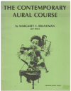 The Contemporary Aural Course Set Two by Margaret Brandman (1983) used book for sale in Australian second hand music shop