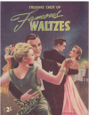 Treasure Chest Of Famous Waltzes (c.1943) used second hand piano music book for sale in Australian second hand music shop