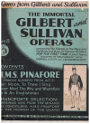 H M S Pinafore or The Lass That Loved A Sailor Famous Numbers From Act 2 (The Immortal Gilbert and Sullivan Operas 