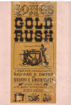 The Songs Of The Gold Rush melody line songbook by Richard A Dwyer Richard E Lingenfelter David Cohen (1964) used song book for sale in Australian second hand music shop