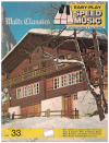 Easy-Play Speed Music No.33 Waltz Classics used easy play by letter music book for sale in Australian second hand music shop
