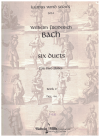Wilhelm Freiderich Bach Six Duets For Two Flutes Book 2 Nos.4-6 SCORE ONLY Kalmus Wind Series 3034 used flute duet book for sale in Australian second hand music shop