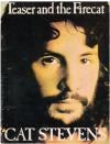 Cat Stevens Teaser And The Firecat piano songbook (1971) used song book for sale in Australian second hand music shop
