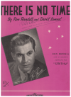 There Is No Time (1946) song by Ron Randell David Samuel used piano sheet music score for sale in Australian second hand music shop