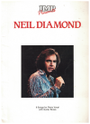 IMP Presents Neil Diamond PVG songbook (1988) ISBN 0861754409 used piano vocal guitar song book for sale in Australian second hand music shop