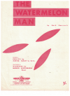 The Watermelon Man (1962) by Herb Hancock Xavier Cugat Orchestra Mongo Santamaria Band used original piano solo sheet music score for sale in Australian second hand music shop