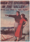 When It's Springtime In The Valley (1942) song by Peter Byron Australian songwriter 