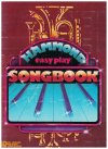 Hammond Easy Play Songbook (1979) Hal Leonard H00-007390 Hal Leonard HL00137820 speed music notation ARRANGED FOR PLAY BY LETTER 
