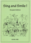 Sing And Smile! Student Edition childrens' melody line songbook by Adrienne Irving (Reprint 1998) Irving Publications used childrens song book for sale in Australian second hand music shop