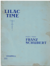 Lilac Time Vocal Score (1922) based upon 'Das Dreimaderlhaus' Adrian Ross Franz Schubert arranged Heinrich Berte G H Clutsam (Ex-Library) used vocal score for sale in Australian second hand music shop