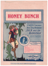 Honey Bunch (1926) song sung by Elsie Prince in Sir Benjamin & John Fuller's Christmas Fairy Pantomime 'Jack And The Beanstalk' by Cliff Friend 