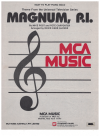 Magnum P.I. piano theme for easy piano (1984) Mike Post Peter Carpenter arranged David Carr Glover 