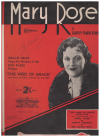 Mary Rose (1933) song from film 'This Week Of Grace' Harry Parr-Davies Gracie Fields Birrell O'Malley 