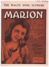 Marion (1928)theme song from film '4 Devils' ('Four Devils') Erno Rapee Lew Pollack 