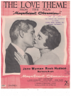 Piano solo love theme film 'Magnificent Obsession' (1954) based upon Etude Op.10 No.8 by F Chopin arranged Frank Skinner 