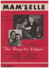 Mam'selle (1947) theme song from film 'The Razor's Edge' Mack Gordon Edmund Goulding 