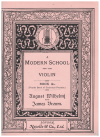 A Modern School For The Violin in Twelve Books Book 4A (Fourth Book of Technical Practice) by August Wilhelmj James Brown Novello 