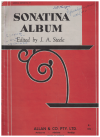 Sonatina Album For Piano edited by J A Steele Imperial Edition No.17 
