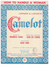 How To Handle A Woman (1960) song from stage show 'Camelot' by Alan Jay Lerner Frederick Loewe 