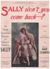 Sally Won't You Come Back? (1921) song from stage production 'Ziegfeld Follies 1921' by Gene Buck Dave Stamper 