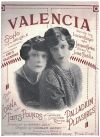 Valencia (1926) Lucien Boyer Jacques Charles Eric Valentine Jose Padilla Mistinguett Lorna and Toots Pounds 
