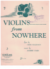 Violins From Nowhere (1950) song from 'Michael Todd's Peep Show' Herb Magidson Sammy Fain 
