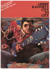 Gerry Rafferty City To City PVG songbook (1978) used original song book for sale in Australian second hand music shop