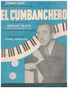 El Cumbanchero by Rafael Hernandez for Piano as recorded by Stanley Black and Orchestra on DECCA F9223 (1950) used piano sheet music score for sale in Australian second hand music shop