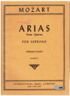 Mozart Arias From Operas For Soprano (Sergius Kagen) Volume III used book for sale in Australian second hand music shop