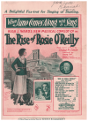 When June Comes Along With A Song (1923) song from musical comedy 'The Rise Of Rosie O'Reilly' by George M Cohan Dorothy Brunton Les Pearce 