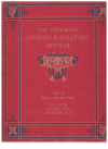 The Immortal Gilbert & Sullivan Operas Volume 4 Famous Numbers from Iolanthe Utopia Ltd & Princess Ida (c.1950) used book for sale in Australian second hand music shop
