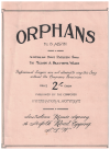Orphans (c.1920) song by B Alwin Australia's most pathetic song used original piano sheet music score for sale in Australian second hand music shop