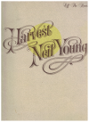 Harvest Neil Young Off The Record full band score songbook (1993) ISBN 0863599745 22133 KY33330 used song book for sale in Australian second hand music shop