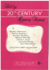 Thirty 20th Century Hymn Tunes for choir by Geoffrey Beaumont Patrick Appleford Gordon Hartless Michael Brierley Cheslyn Jones Lancelot Hankey John Glandfield 