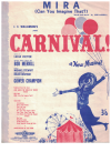 Mira (Can You Imagine That?) (1961) song from stage show 'Carnival!' by Bob Merrill 