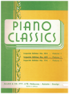 Piano Classics Volume 2 Imperial Edition No.669 used piano music book for sale in Australian second hand music shop